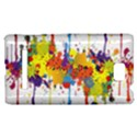 Crazy Multicolored Double Running Splashes HTC 8S Hardshell Case View1