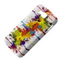 Crazy Multicolored Double Running Splashes Samsung Galaxy Premier I9260 Hardshell Case View4
