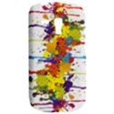 Crazy Multicolored Double Running Splashes Samsung Galaxy S3 MINI I8190 Hardshell Case View2