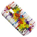 Crazy Multicolored Double Running Splashes Samsung Galaxy S3 MINI I8190 Hardshell Case View5