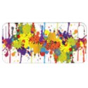 Crazy Multicolored Double Running Splashes Apple iPhone 5 Hardshell Case with Stand View1