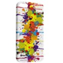 Crazy Multicolored Double Running Splashes Apple iPhone 5 Hardshell Case with Stand View2