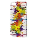 Crazy Multicolored Double Running Splashes Apple iPhone 5 Hardshell Case with Stand View3