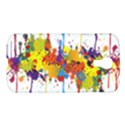 Crazy Multicolored Double Running Splashes Samsung Galaxy S4 I9500/I9505 Hardshell Case View1