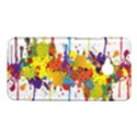 Crazy Multicolored Double Running Splashes HTC One M7 Hardshell Case View1