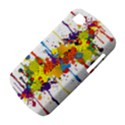 Crazy Multicolored Double Running Splashes BlackBerry Q10 View4