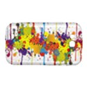 Crazy Multicolored Double Running Splashes Samsung Galaxy Grand GT-I9128 Hardshell Case  View1
