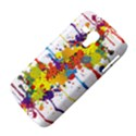 Crazy Multicolored Double Running Splashes Samsung Galaxy Duos I8262 Hardshell Case  View4