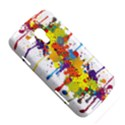 Crazy Multicolored Double Running Splashes Samsung Galaxy Duos I8262 Hardshell Case  View5