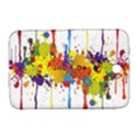 Crazy Multicolored Double Running Splashes Samsung Galaxy Note 8.0 N5100 Hardshell Case  View1