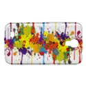 Crazy Multicolored Double Running Splashes Samsung Galaxy Mega 6.3  I9200 Hardshell Case View1