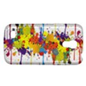 Crazy Multicolored Double Running Splashes Galaxy S4 Mini View1