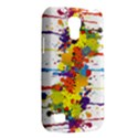 Crazy Multicolored Double Running Splashes Galaxy S4 Mini View2