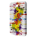 Crazy Multicolored Double Running Splashes Samsung Galaxy Tab 3 (7 ) P3200 Hardshell Case  View3