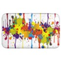 Crazy Multicolored Double Running Splashes Samsung Galaxy Tab 3 (8 ) T3100 Hardshell Case  View1