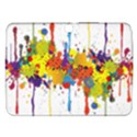 Crazy Multicolored Double Running Splashes Samsung Galaxy Tab 3 (10.1 ) P5200 Hardshell Case  View1