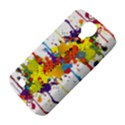 Crazy Multicolored Double Running Splashes Samsung Galaxy S4 Classic Hardshell Case (PC+Silicone) View4