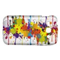 Crazy Multicolored Double Running Splashes Samsung Galaxy Ace 3 S7272 Hardshell Case View1