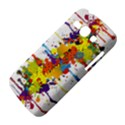 Crazy Multicolored Double Running Splashes Samsung Galaxy Ace 3 S7272 Hardshell Case View4