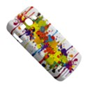 Crazy Multicolored Double Running Splashes Samsung Galaxy Ace 3 S7272 Hardshell Case View5
