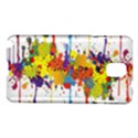 Crazy Multicolored Double Running Splashes Samsung Galaxy Note 3 N9005 Hardshell Case View1