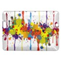 Crazy Multicolored Double Running Splashes Kindle Fire HDX Hardshell Case View1