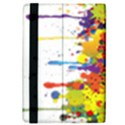 Crazy Multicolored Double Running Splashes iPad Mini 2 Flip Cases View4