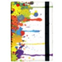 Crazy Multicolored Double Running Splashes iPad Air Flip View2