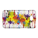 Crazy Multicolored Double Running Splashes LG Optimus L70 View1