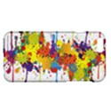Crazy Multicolored Double Running Splashes Apple iPhone 6 Plus/6S Plus Hardshell Case View1