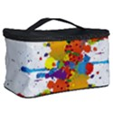 Crazy Multicolored Double Running Splashes Cosmetic Storage Case View2