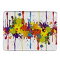 Crazy Multicolored Double Running Splashes iPad Air 2 Hardshell Cases View1