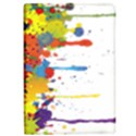Crazy Multicolored Double Running Splashes iPad Air 2 Flip View1