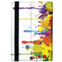Crazy Multicolored Double Running Splashes iPad Air 2 Flip View4