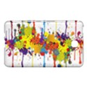 Crazy Multicolored Double Running Splashes Samsung Galaxy Tab 4 (8 ) Hardshell Case  View1