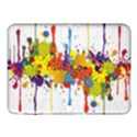 Crazy Multicolored Double Running Splashes Samsung Galaxy Tab 4 (10.1 ) Hardshell Case  View1