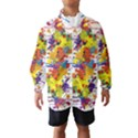 Crazy Multicolored Double Running Splashes Wind Breaker (Kids) View1