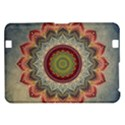 Folk Art Lotus Mandala Dirty Blue Red Kindle Fire HD 8.9  View1