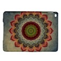 Folk Art Lotus Mandala Dirty Blue Red iPad Air 2 Hardshell Cases View1