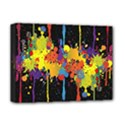 Crazy Multicolored Double Running Splashes Horizon Deluxe Canvas 16  x 12   View1