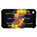 Crazy Multicolored Double Running Splashes Horizon Apple iPhone 3G/3GS Hardshell Case View1