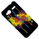 Crazy Multicolored Double Running Splashes Horizon HTC Radar Hardshell Case  View5