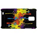 Crazy Multicolored Double Running Splashes Horizon Samsung Infuse 4G Hardshell Case  View1