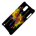 Crazy Multicolored Double Running Splashes Horizon Samsung Infuse 4G Hardshell Case  View4