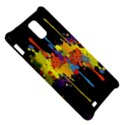 Crazy Multicolored Double Running Splashes Horizon Samsung Infuse 4G Hardshell Case  View5