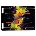 Crazy Multicolored Double Running Splashes Horizon Kindle Touch 3G View1