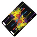 Crazy Multicolored Double Running Splashes Horizon Kindle Touch 3G View4