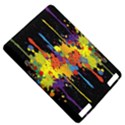 Crazy Multicolored Double Running Splashes Horizon Kindle Touch 3G View5