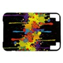 Crazy Multicolored Double Running Splashes Horizon Kindle 3 Keyboard 3G View1