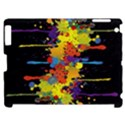Crazy Multicolored Double Running Splashes Horizon Apple iPad 2 Hardshell Case (Compatible with Smart Cover) View1